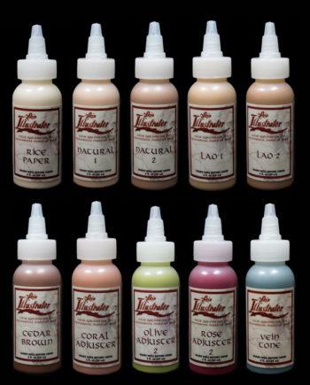 flesh tone palette liquids skin illustrator