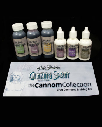 glazing spray greg cannom bruising kit