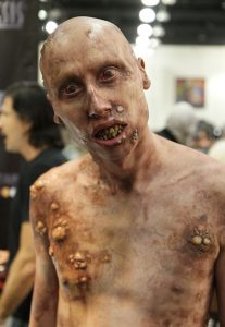 "Alexander Ward as American Horror Story's ""Mattress Man"" by Mike Mekash."