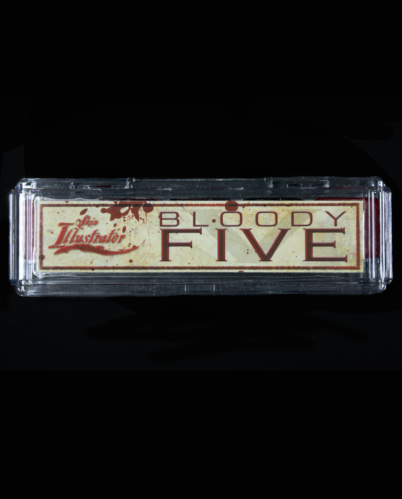 Bloody Five Palette - Skin Illustrator