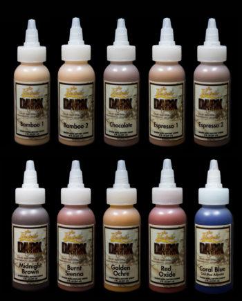 dark skin tone palette liquids skin illustrator
