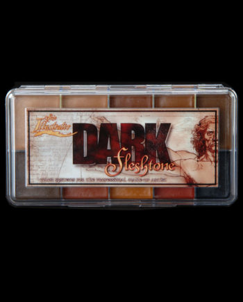 dark flesh tone palette