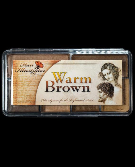 warm brown palette