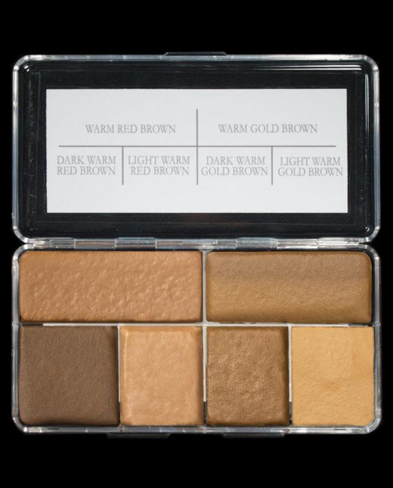 warm brown palette colors
