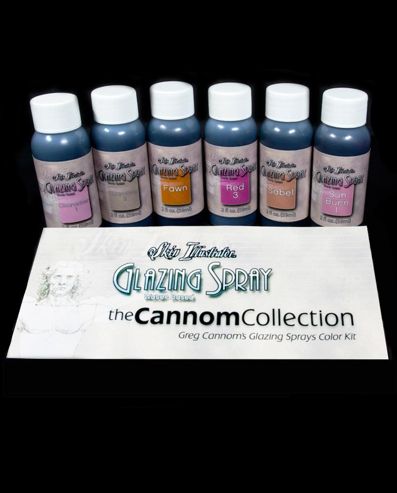 glazing spray greg cannom color kit