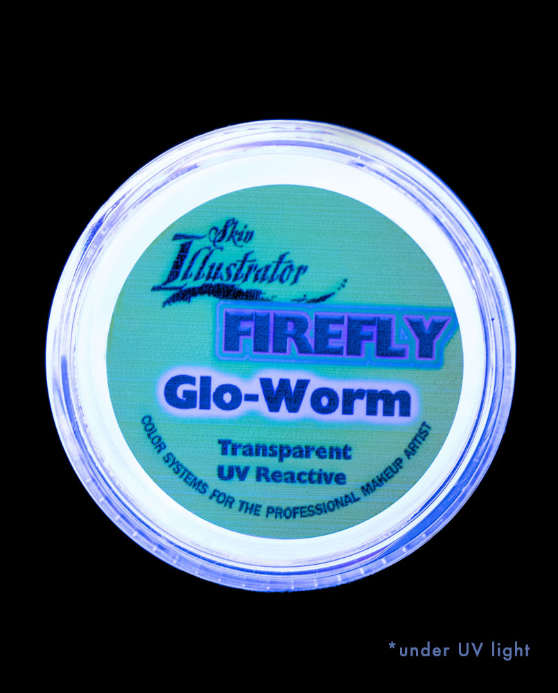 glo-worm transparent UV black light special effects makeup