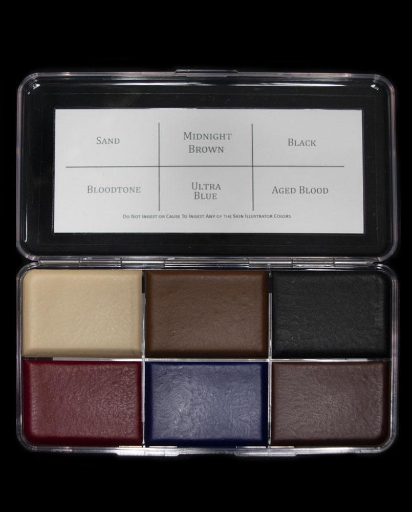 blood sand palette skin illustrator alcohol color fx makeup special effects